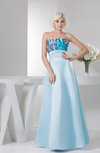 Long Prom Dress Unique Dream Full Figure Trendy Fashion A line Open Back