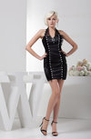 Lace Homecoming Dress Inexpensive Open Back Sleeveless Formal Low Back Hot