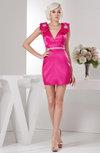 Sexy Party Dress Short Trendy Sheath Garden Rhinestone Mini Chic Autumn