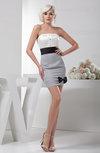 Affordable Graduation Dress Short Open Back Dream Mature Sleeveless Bow