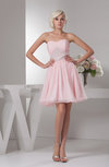 Inexpensive Homecoming Dress Short Trendy Semi Formal Sweetheart Fall