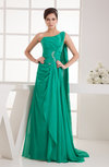 Inexpensive Party Dress Affordable Modern Church Natural Court Train