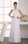 Lace Evening Dress Long Chiffon Glamorous Plus Size Full Figure Spring