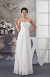 Chiffon Bridesmaid Dress Inexpensive Spring Natural Sleeveless Trendy