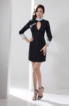 Long Sleeve Club Dress Casual High Neck Autumn Fall Plus Size Pretty Trendy