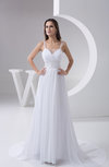 Inexpensive Bridal Gowns Maternity Elegant Open Back Cinderella Formal Fall