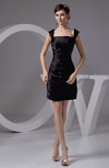 with Sleeves Bridesmaid Dress Modest Semi Formal Short Sleeve Tight Classy
