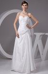 Beach Bridal Gowns Inexpensive Sleeveless Full Figure Strapless Elegant