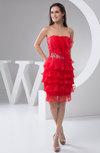 Short Bridesmaid Dress Country Chic Summer Semi Formal Plain Hot Winter