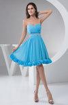 Chiffon Bridesmaid Dress Affordable Natural Formal Classy Plain Informal