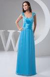 Chiffon Bridesmaid Dress Beach Gorgeous Tight Backless Summer Elegant