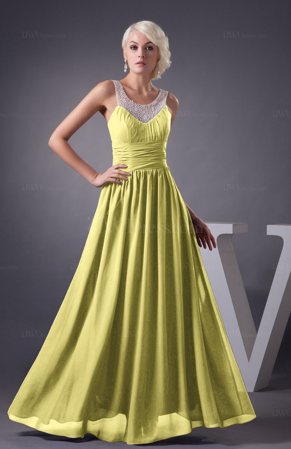 1d8514957af Chiffon Bridesmaid Dress Country Chic Summer Simple Plus Size Western