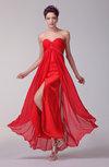 Tea Length Sweet 16 Dress Long Hi Low Allure Petite Summer Elegant