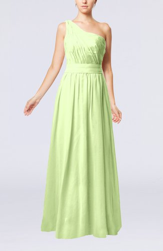 Modest Sleeveless Zipper Chiffon Floor Length Evening Dresses