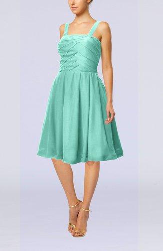 Modest A-line Thick Straps Sleeveless Knee Length Little Black Dresses