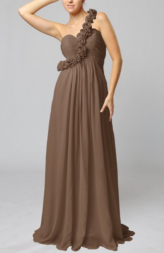 Plus Size Petite Special Occasion Dresses Brown color Winter ...