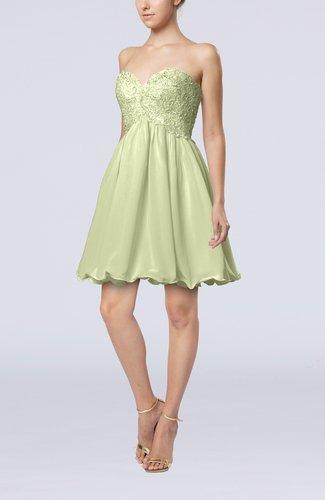 Cinderella A-line Sleeveless Backless Chiffon Pleated Graduation Dresses