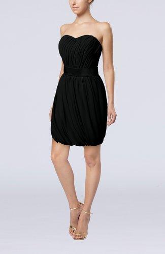Modern Sheath Sweetheart Sleeveless Zipper Short Homecoming Dresses