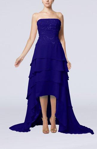 Modern Sleeveless Zipper Chiffon Paillette Mother of the Bride Dresses