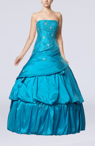 Gorgeous Sleeveless Backless Floor Length Tiered Evening Dresses
