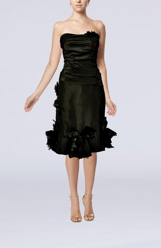 Elegant Sheath Sweetheart Zipper Taffeta Cocktail Dresses