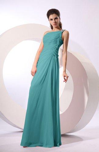 Fairytale Sheath Zipper Floor Length Rhinestone Bridesmaid Dresses