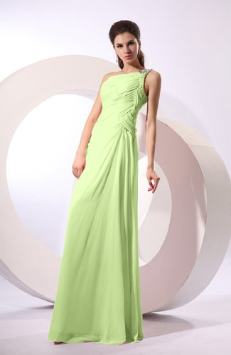 Fairytale Sheath Zipper Floor Length Rhinestone Bridesmaid Dresses