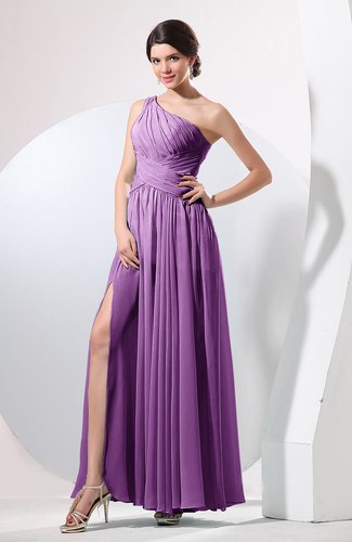Plain Sheath Sleeveless Floor Length Pleated Prom Dresses
