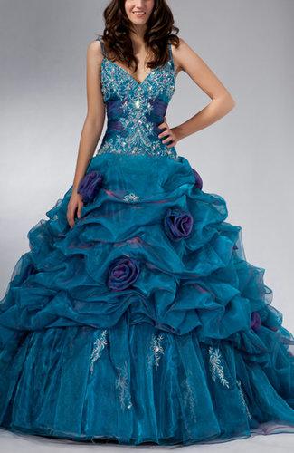 Disney Princess V-neck Sleeveless Lace up Floor Length Quinceanera Dresses