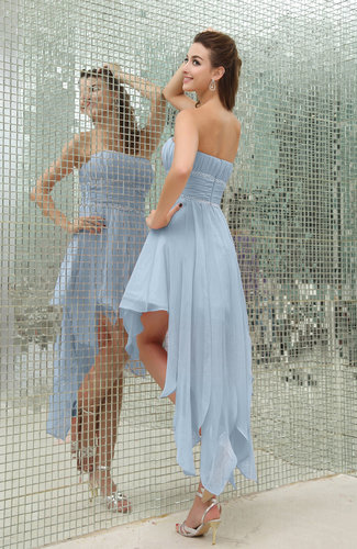 b3abc27b08ba ... Plain Sleeveless Zipper Chiffon Ankle Length Ruching Wedding Guest  Dresses