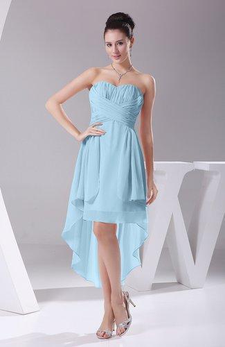 Informal A-line Sweetheart Chiffon Ruching Bridesmaid Dresses