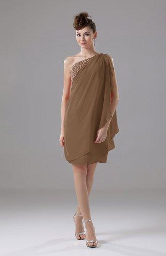 Cute Sheath Sleeveless Backless Knee Length Cocktail Dresses
