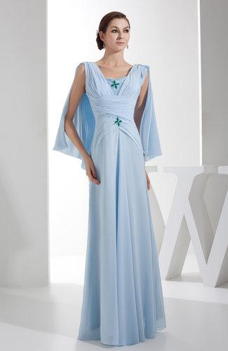 Elegant Column V-neck Zipper Ruching Prom Dresses