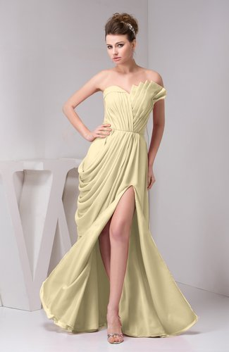 Chiffon Bridesmaid Dress Unique Destination Open Back Fall Backless Garden