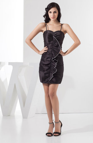 Summer Cocktail Dress Sexy Low Back Mini Semi Formal Plus Size Full Figure