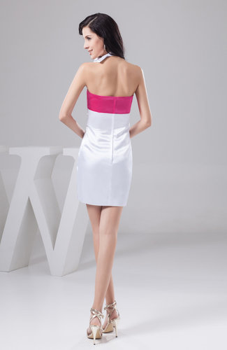 White Summer Cocktail Dress Sexy Full Figure Chic Semi