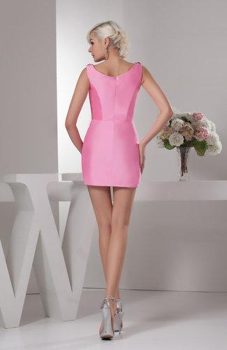 Short Homecoming Dress Unique Classic Sheath Tight Plus
