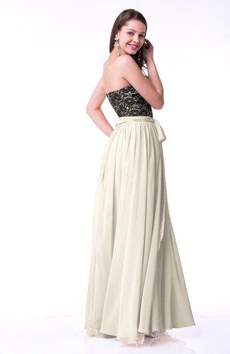 Champagne Modern Sweetheart Zip up Chiffon Ribbon Plus Size Prom Dresses