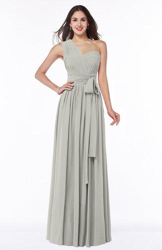 Modern Sleeveless Half Backless Floor Length Ribbon Plus Size Bridesmaid Dresses