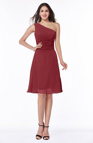 Informal A-line Asymmetric Neckline Sleeveless Chiffon Ruching Plus Size Bridesmaid Dresses
