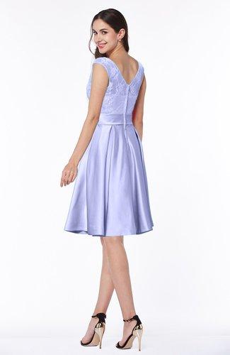 Lavender Romantic A-line Sleeveless Zipper No Plus Size Bridesmaid Dresses