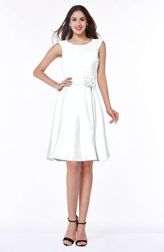 Romantic A-line Sleeveless Zipper No Plus Size Bridesmaid Dresses