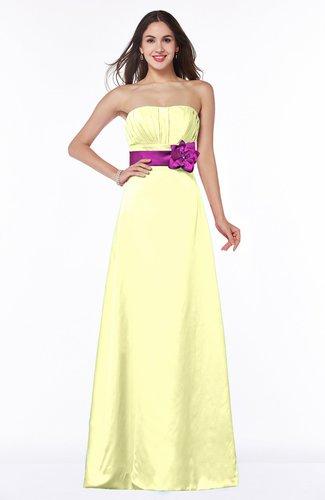 Disney Princess A-line Sleeveless Half Backless Ruching Plus Size Bridesmaid Dresses
