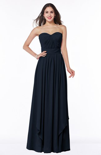 Modern A-line Sweetheart Sleeveless Floor Length Ruching Plus Size Bridesmaid Dresses