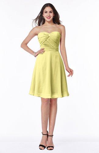 Informal Sleeveless Chiffon Short Ruching Plus Size Bridesmaid Dresses