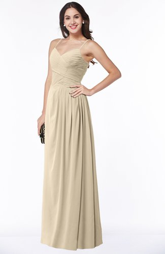 Romantic Spaghetti Sleeveless Zipper Floor Length Ruching Plus Size Bridesmaid Dresses