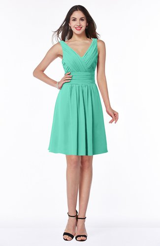 Modern Thick Straps Sleeveless Zip up Chiffon Plus Size Bridesmaid Dresses