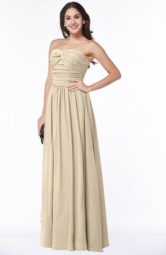Plus Size Bridesmaid Dresses US$110.00 - US$119.99 Champagne ...