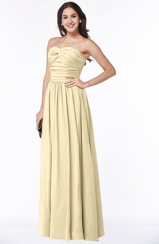 Classic Sleeveless Zipper Floor Length Ruching Plus Size Bridesmaid Dresses