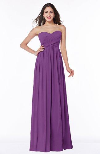 Classic A-line Sleeveless Zipper Bow Plus Size Bridesmaid Dresses